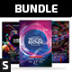 Party Flyer Bundle Vol.105 - GraphicRiver Item for Sale