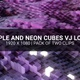 Purple And Neon Cubes - VideoHive Item for Sale