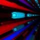 Neon Bars Tunnel - VideoHive Item for Sale