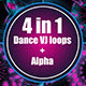 Dance VJ Loops - VideoHive Item for Sale