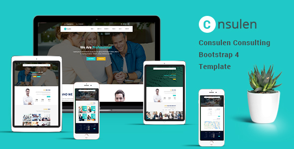 Consulen - Consulting Business Bootstrap4 Template - Business Corporate