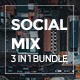 Social Mix 3 in 1 Bundle Keynote Template - GraphicRiver Item for Sale