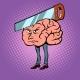 Headache Saw in the Brain