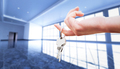 Woman's hand holding the keys to an apartment. - PhotoDune Item for Sale