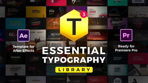 Videohive Essential Titles and Lower Thirds V3.5 20681372