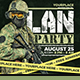 Lan Party Flyer/Poster - GraphicRiver Item for Sale