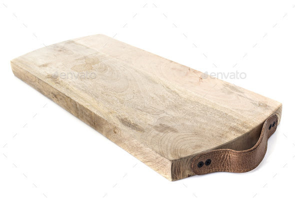 chopping board in studio - Stock Photo - Images