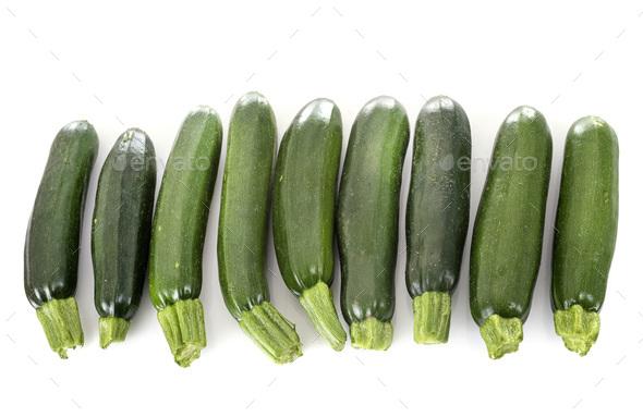 zucchini in studio - Stock Photo - Images