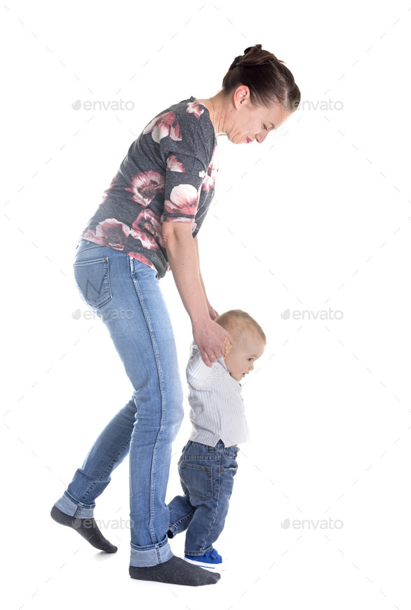 baby and mother - Stock Photo - Images