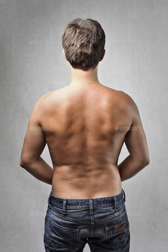 Man's back - Stock Photo - Images