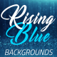 Rising Blue Particles Background - VideoHive Item for Sale