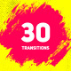 30 Brush Transitions Pack - VideoHive Item for Sale