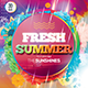 Fresh Summer Photoshop Flyer Template - GraphicRiver Item for Sale