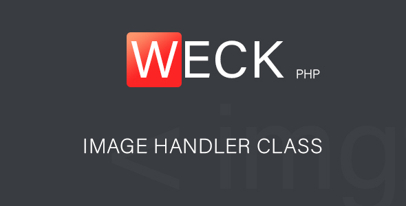 Weck - Image Handler Class - CodeCanyon Item for Sale