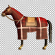 Medieval War Horse Canter Walk Start and Stop - VideoHive Item for Sale