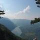 Flying From Banjska Stena Rock at Tara Mountain