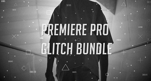 Premiere Pro Glitch Bundle