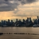 Evening  of Manhattan Hell's Kitchen and Midtown - VideoHive Item for Sale
