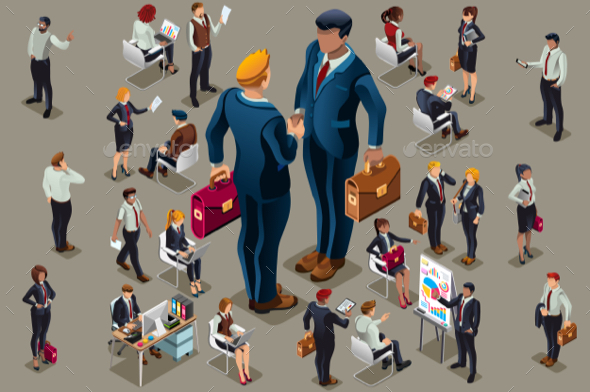 Businessmen Executive People - People Characters