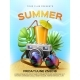 Vector Summer Tropical Club Cocktail Party Poster - GraphicRiver Item for Sale