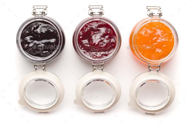 Tasty fruity jam. - Stock Photo - Images