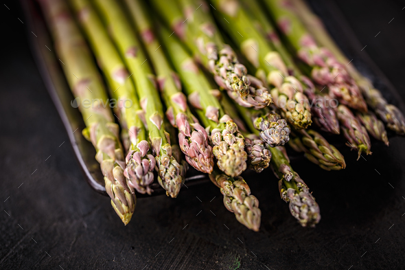 Bunch of fresh asparagus - Stock Photo - Images