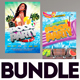 Summer Flyer Bundle v8 - GraphicRiver Item for Sale