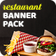 Fast Food Banner Pack