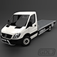 Mercedes Sprinter 316 CDi Pritsche Plane Klima Neu 2011 - 3DOcean Item for Sale