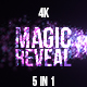 Magic Particles Reveal - VideoHive Item for Sale