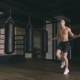 Athletic Man Skipping with a Jump Rope - VideoHive Item for Sale