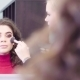 The Makeup Artist Applying Powder on the Face - VideoHive Item for Sale
