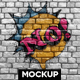 Graffiti Mockup - GraphicRiver Item for Sale