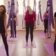 Aerial Yoga in Gym. Pre Exercises - VideoHive Item for Sale