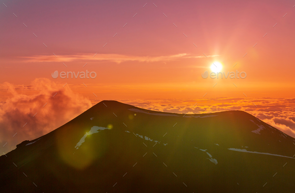 Mauna Kea - Stock Photo - Images