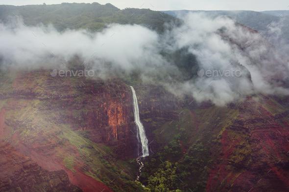 Waimea canyon - Stock Photo - Images