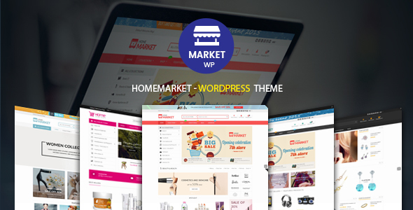 HomeMarket – eCommerce WP Theme for WooCommerce