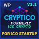 Cryptico - ICO Crypto Landing & Cryptocurrency WordPress Theme - ThemeForest Item for Sale