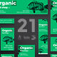 Organic Food Shop Banner Pack
