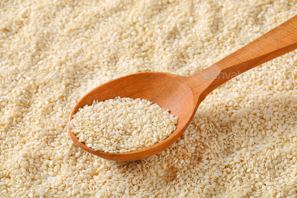 healthy sesame seeds - Stock Photo - Images