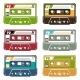 Set of Tape Cassettes