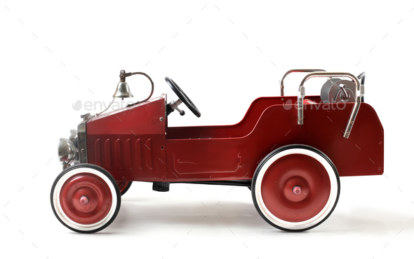 A toy vintage car - Stock Photo - Images