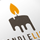 Candle Light Logo Template - GraphicRiver Item for Sale