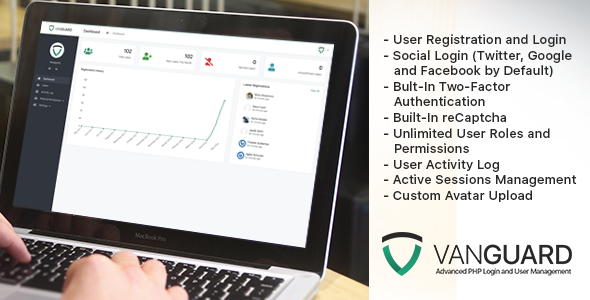 Vanguard - Advanced PHP Login and User Management - CodeCanyon Item for Sale