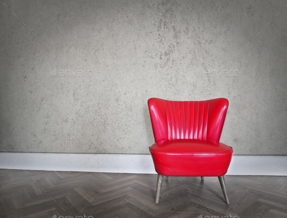 Armchair indoor - Stock Photo - Images