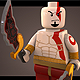 Lego Kratos - 3DOcean Item for Sale