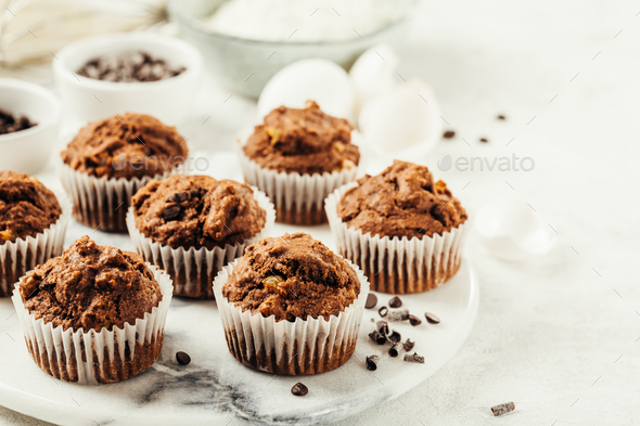 Muffins - Stock Photo - Images
