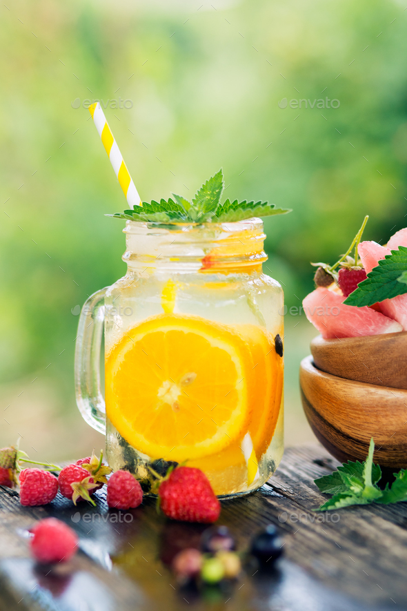 Summer drink  - Stock Photo - Images