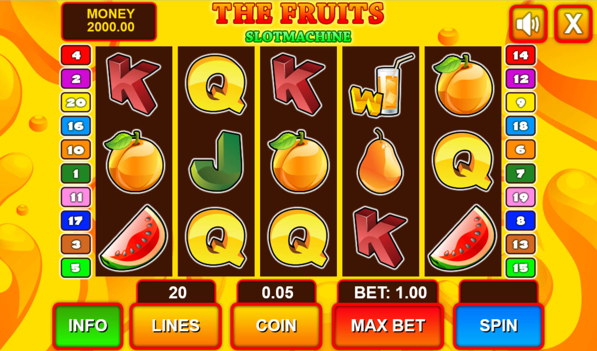 Fruit Games Casino