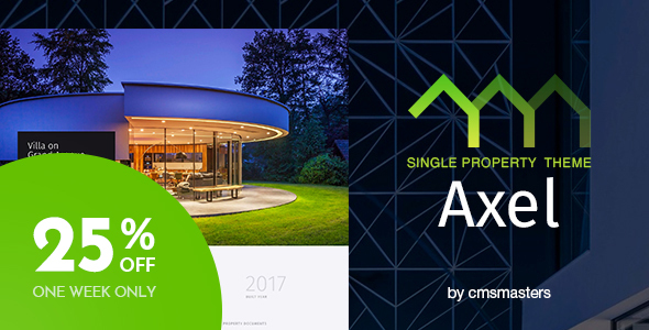 Image of Axel - Single Property Real Estate Theme